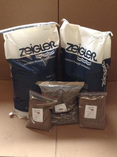 A full line of quality fish feeds available